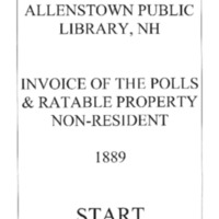 Allenstown Public Library, NH Invoice of the Polls & Ratable Property 1889 Non-Resident.compressed.pdf