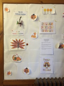 nov bulletin board